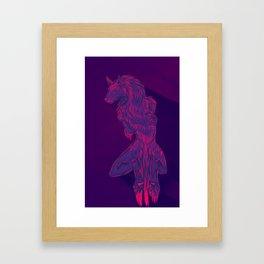 Bleed In Colours Framed Art Print