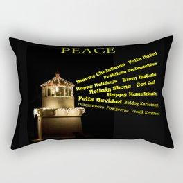Season's Greetings Rectangular Pillow