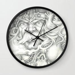 Viking 2 Wall Clock