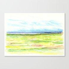 Sea meadow Canvas Print