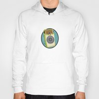 transistor Hoodies featuring Transistor Radio Flash Card by paper moon projects