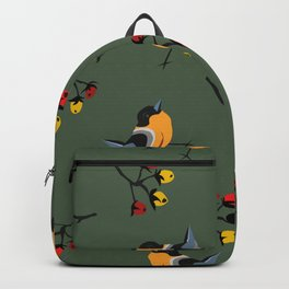 Yellow Birdies Backpack