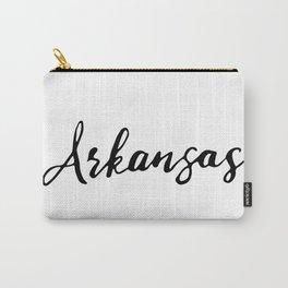 Arkansas (AR; Ark.) Carry-All Pouch