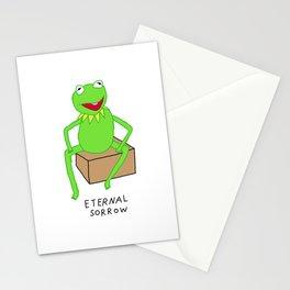 Eternal Sorrow Kermit Stationery Cards