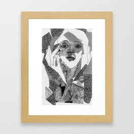 mail ordered bridal Framed Art Print