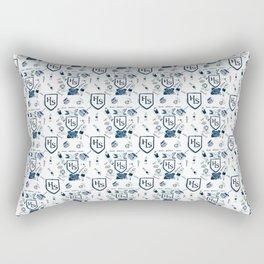 Classical School pattern Rectangular Pillow