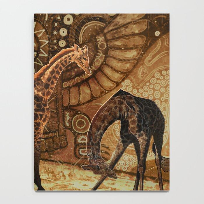 Three Giraffes Notebook