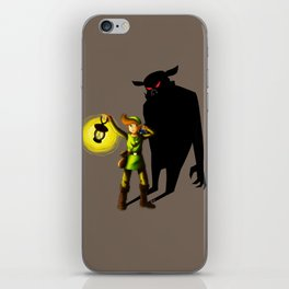 The Hero's Lantern iPhone Skin