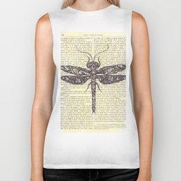 dragonfly Biker Tank