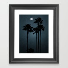 Coastal Moon Framed Art Print