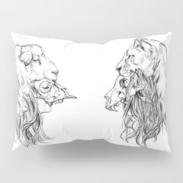The Lion and The Lamb Pillow Sham