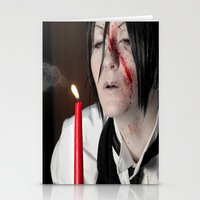 kuroshitsuji Stationery Cards featuring Sebastian Michaelis - Contract by Lalasosu2