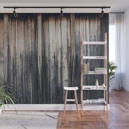 Weathered wood wall Wall Mural