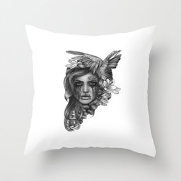 REBEL REBEL Throw Pillow