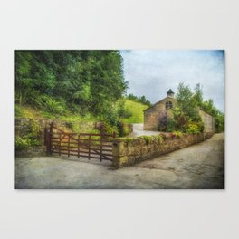 Country Stables Canvas Print
