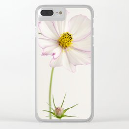 Sensation Cosmos White and Pink Clear iPhone Case
