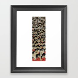 Uniformly Different Friday Framed Art Print
