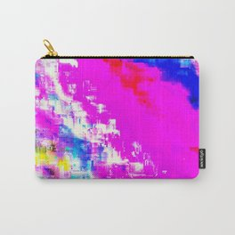 Glitchy Pinkness Carry-All Pouch