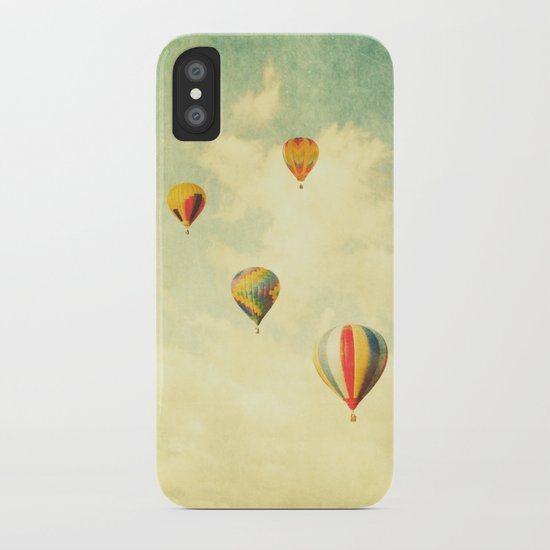 Drifting Balloons iPhone Case