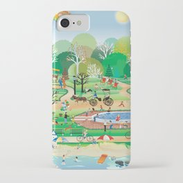 Sunny life iPhone Case