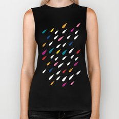 Bright Droplets Biker Tank