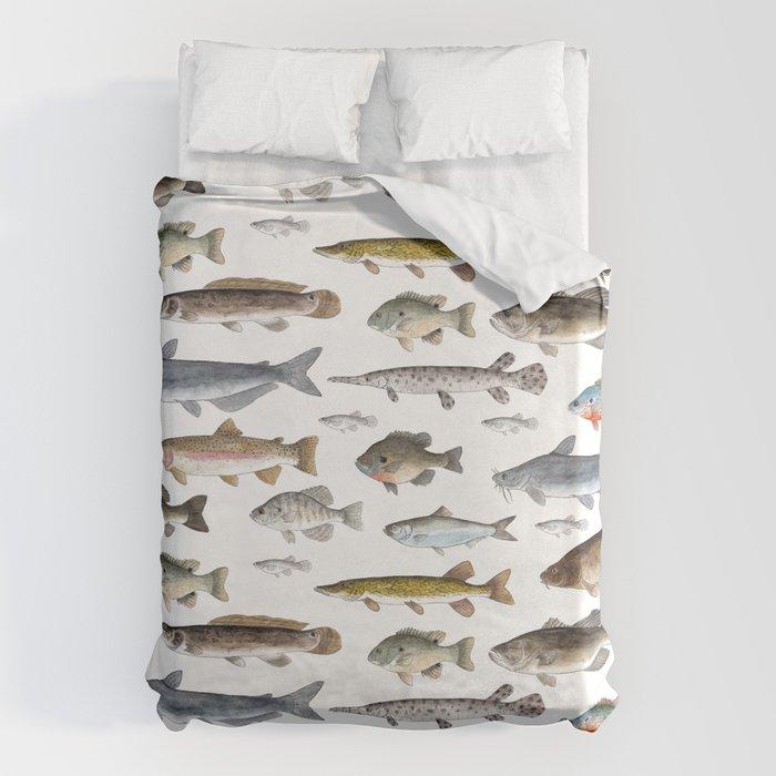 A Few Freshwater Fish Bettbezug