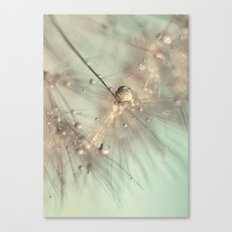 dandelion mint Canvas Print
