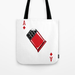 Delicious Deck: The Ace of Diamonds Tote Bag