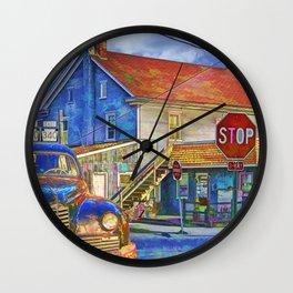 The Crossroads Wall Clock