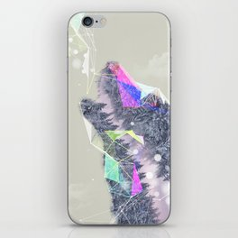 Cry Wolf iPhone Skin