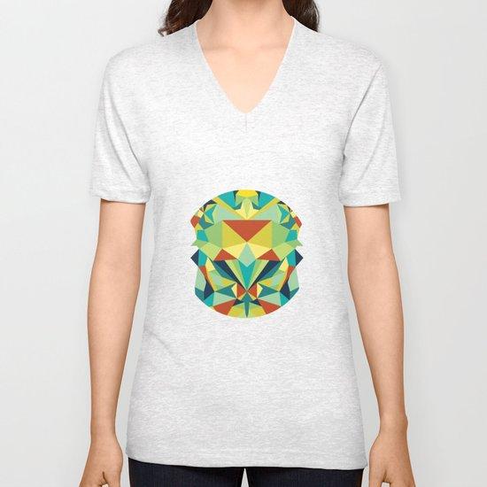 Colorful All Unisex V-Neck