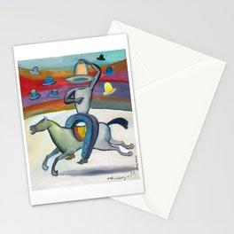 Cow Boy Herradura por Diego Manuel Stationery Cards