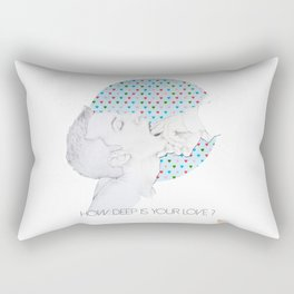How deep is your love Rectangular Pillow