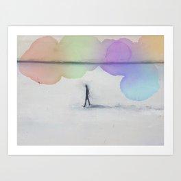 Artist Reminiscences Art Print