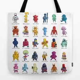 ROM and his Spaceknights in Adorable Collectible Minisize Tote Bag