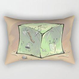 Gelatinous Cube Rectangular Pillow
