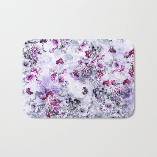 Floral Ocean Soft Bath Mat