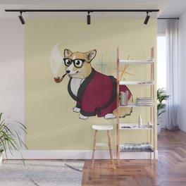 Bob Corgman Knows Best Wall Mural