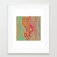 wizard Framed Art Prints featuring Wizard by elikourY
