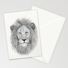 Leo-watercolor Stationery Cards