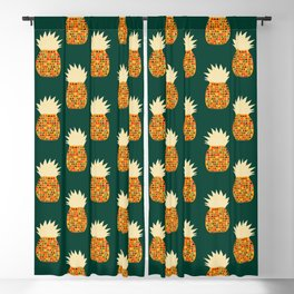 Pineapple Blackout Curtain
