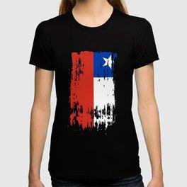 CL CHL Chile Flag T-shirt