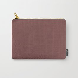 Tuscan red - solid color Carry-All Pouch