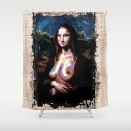 Gioconda Shower Curtain