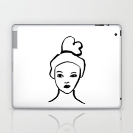 Girl Portrait Laptop & iPad Skin