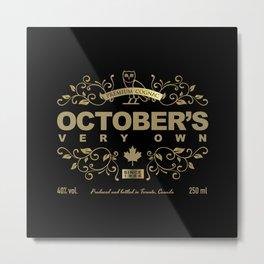 OVO Cognac Metal Print