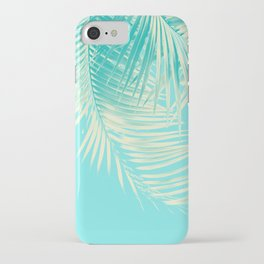 Palm Leaves Summer Vibes #4 #tropical #decor #art #society6 iPhone Case