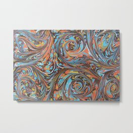 Crowded Colors Metal Print