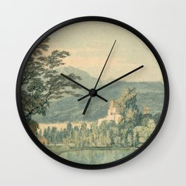 """J.M.W. Turner """"Sir William Hamilton's Villa"""" Wall Clock"""