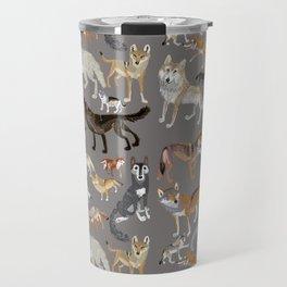 Wolves of the world 1 Travel Mug
